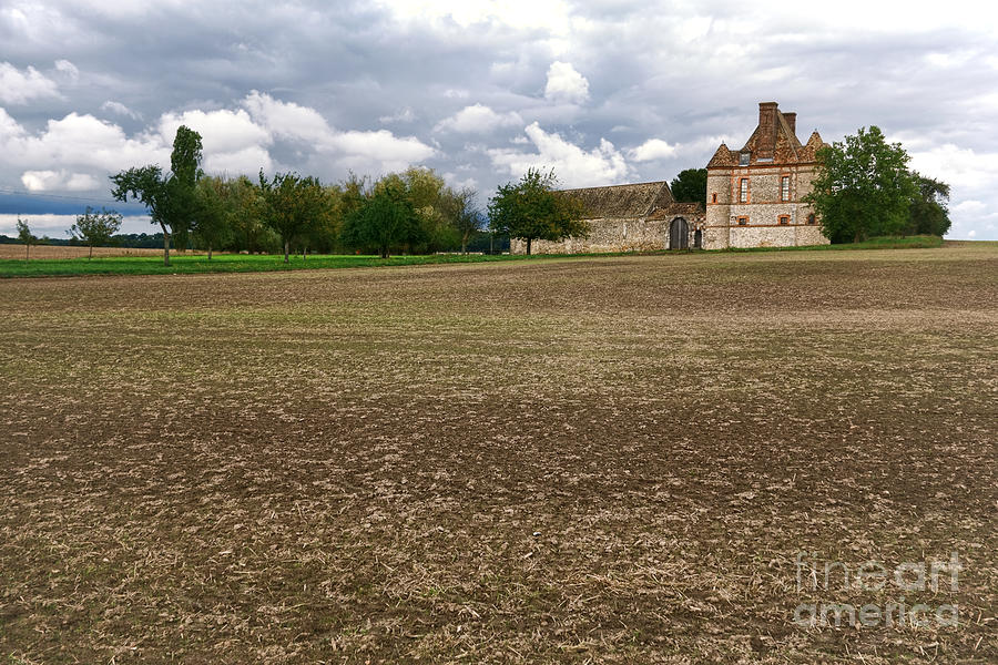 Farm Castle Photograph  - Farm Castle Fine Art Print
