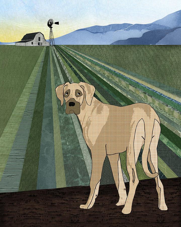 Farm Dog Digital Art