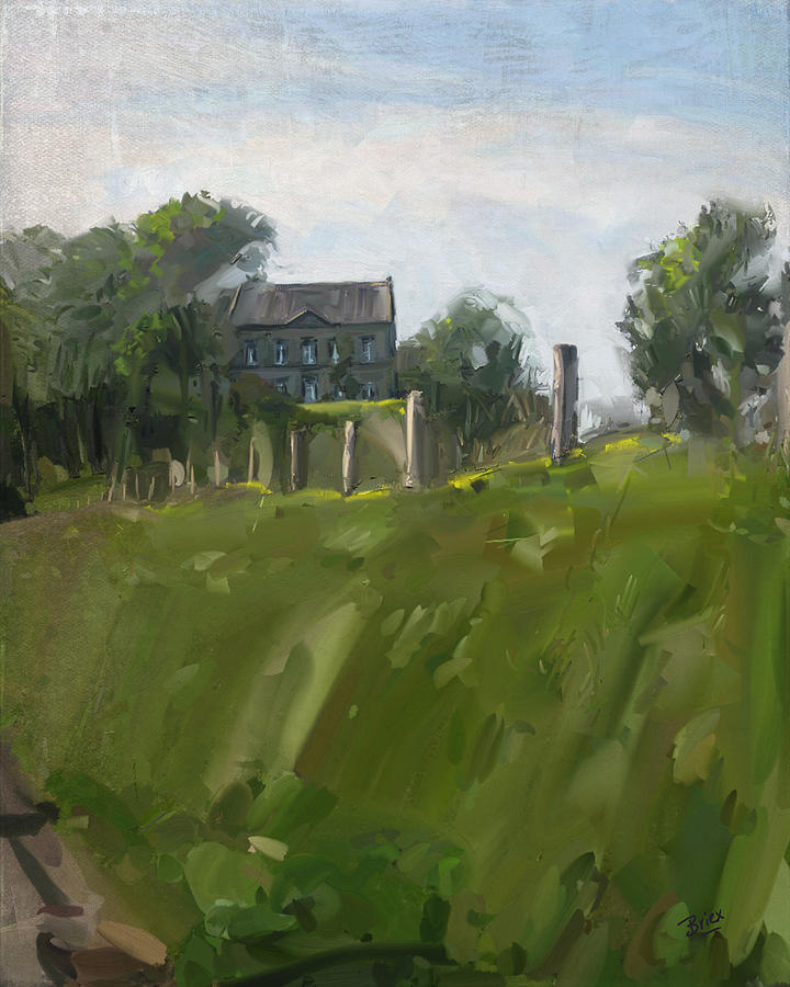 Farm Estate Zonneberg Painting