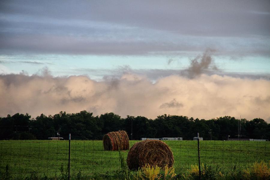 Farm Field Drama Photograph