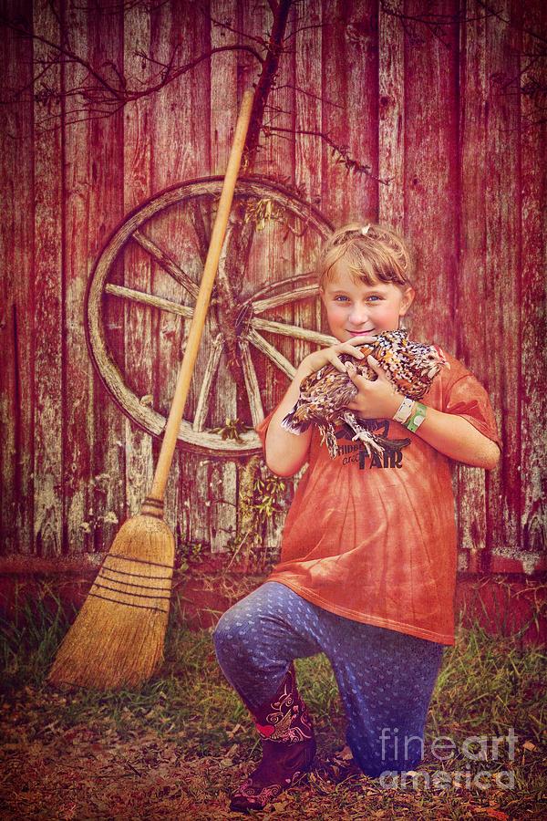 Farm Girl Photograph