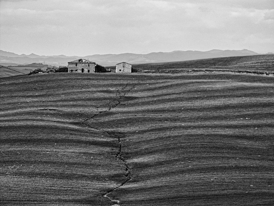 Barn Photograph - Farm Sienna by Hugh Smith