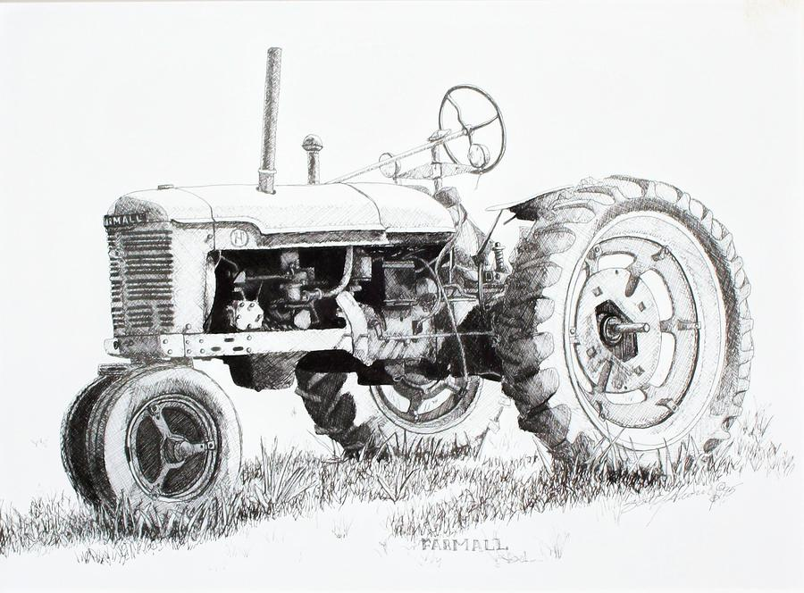 Tractor Drawing Pictures