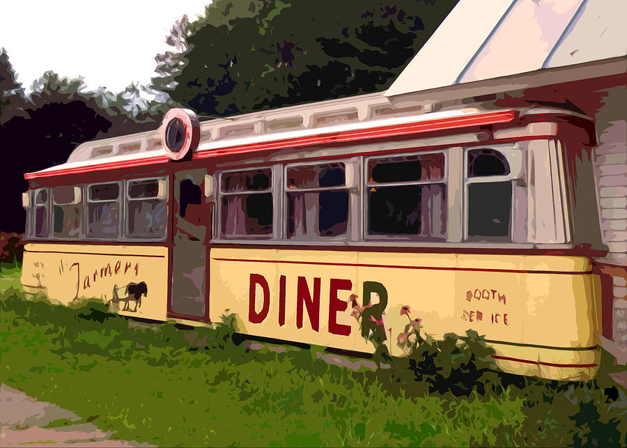 Diner Photograph - Farmers Diner by Jean Hall