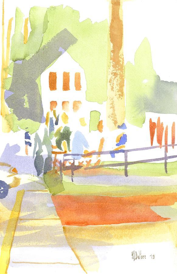 Farmers Market II  Painting