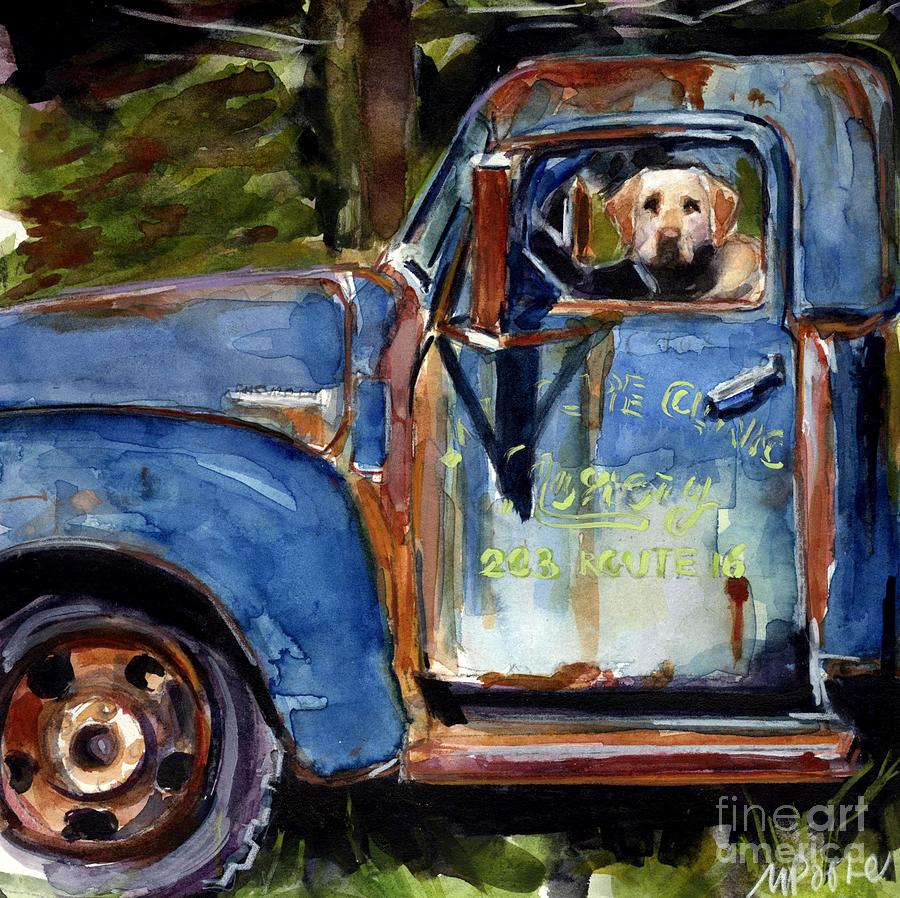 Farmhand Painting  - Farmhand Fine Art Print