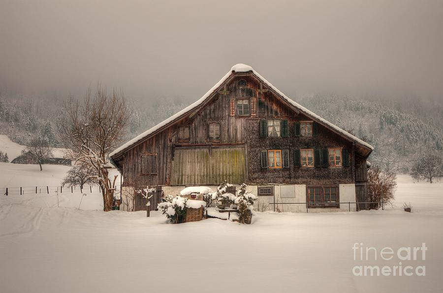 Farmhouse Stans Photograph  - Farmhouse Stans Fine Art Print