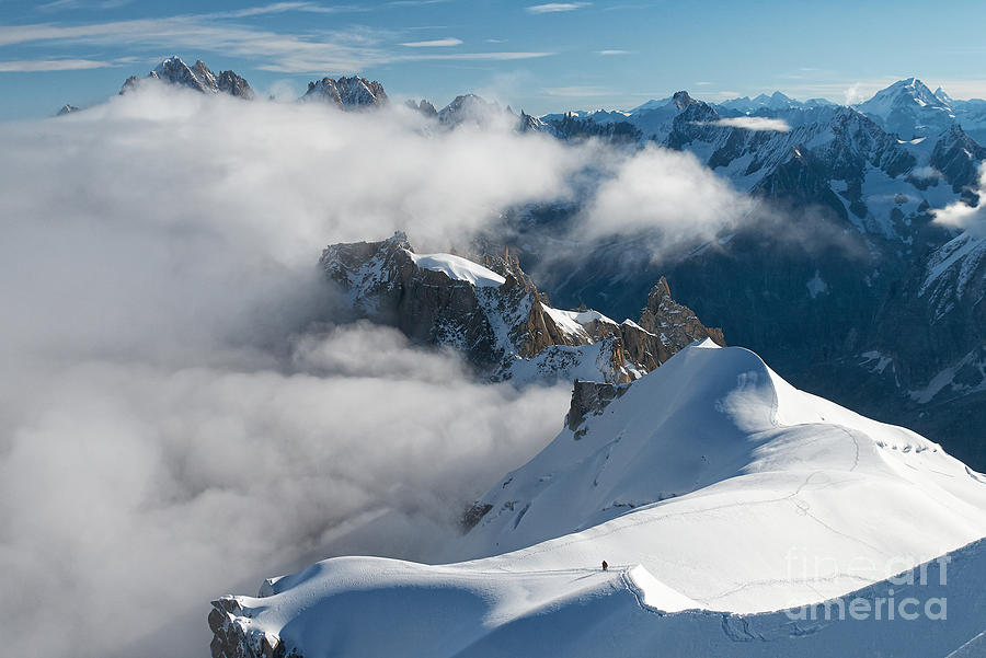 Fascinating Alpine World Chamonix Photograph