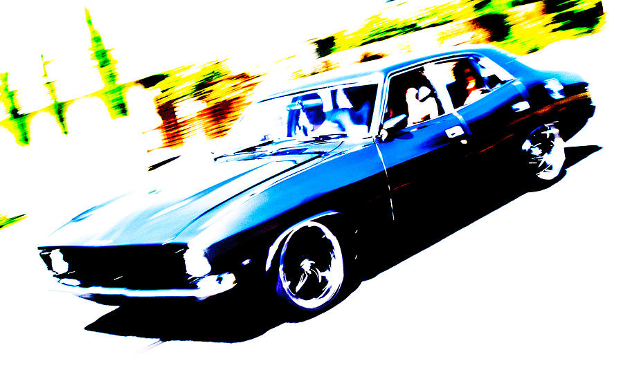 Fast Ford Falcon Photograph  - Fast Ford Falcon Fine Art Print