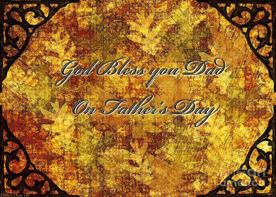 Fathers Day Greeting Card IIi Digital Art