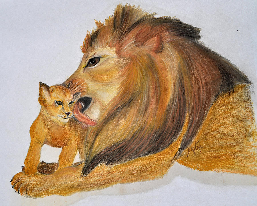 Fathers Love Pastel