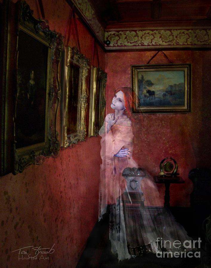 Ghost Photograph - Favorite Painting by Tom Straub