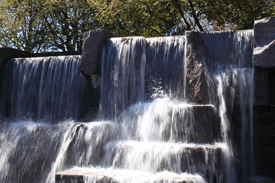 Fdr Memorial - Washington Dc - 01131 Photograph  - Fdr Memorial - Washington Dc - 01131 Fine Art Print