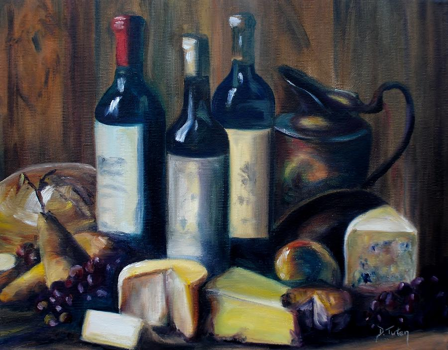 Feast Still Life Painting  - Feast Still Life Fine Art Print