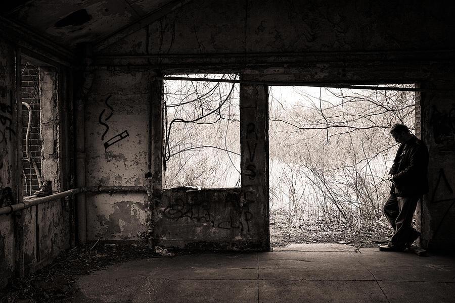 February - Comfortable Seclusion - Self Portrait Photograph