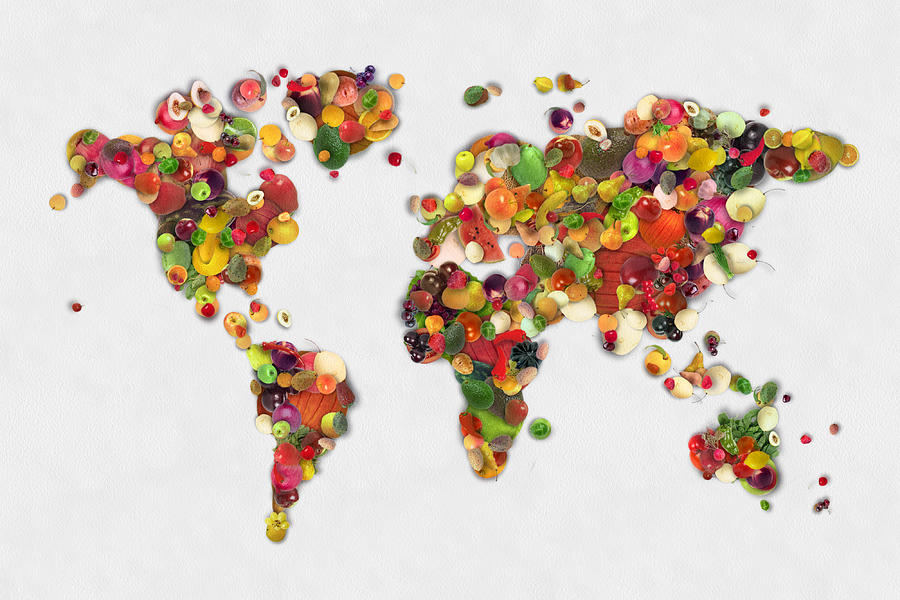 Feed The World Program Revisited Published By Geronimo On - World map program