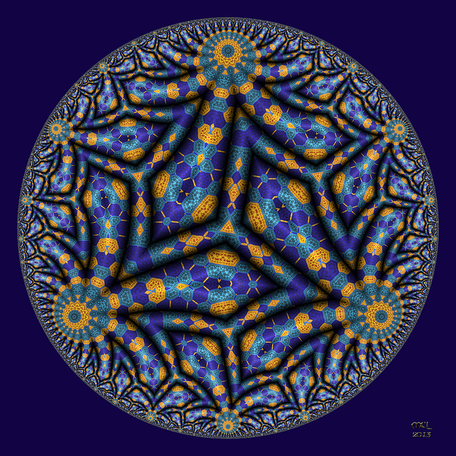 Feedback Patterns Digital Art