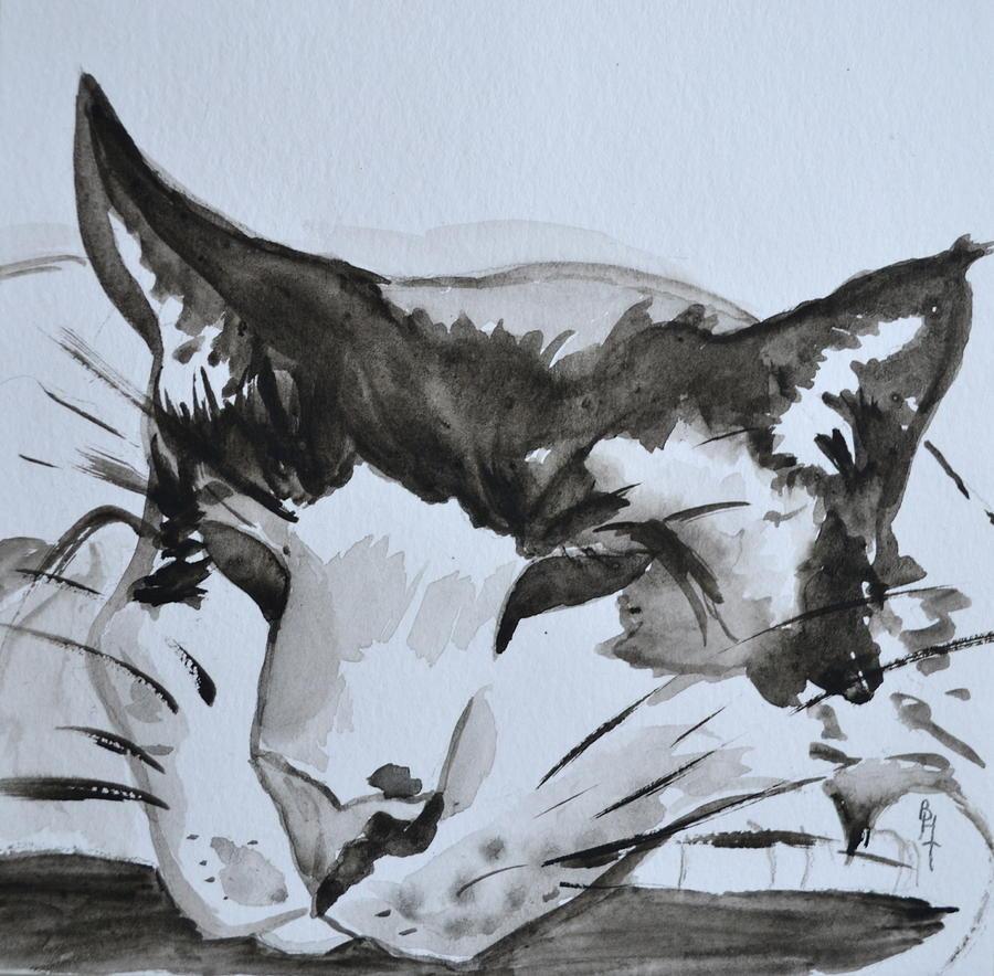 Feline Painting