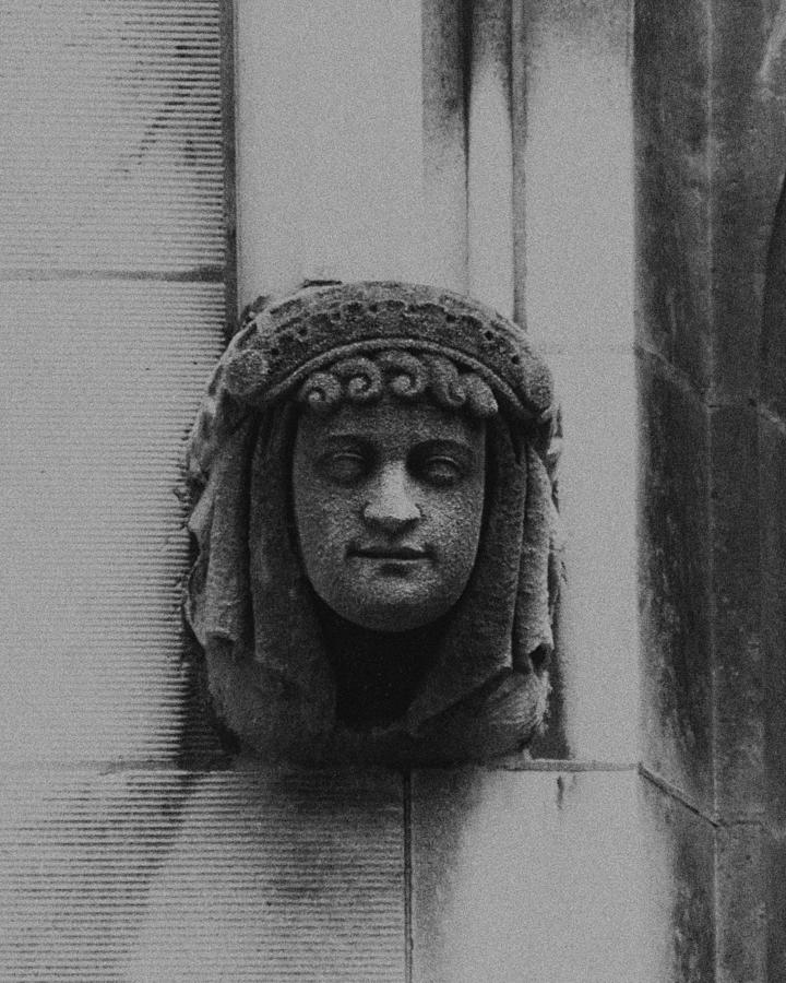 Female Gargoyle University Of Chicago 2009 Photograph