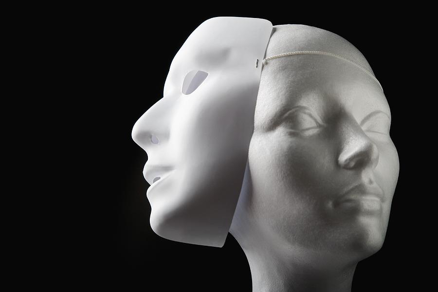 Female Mannequin And Mask Photograph