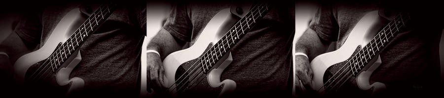 Fender Bass Photograph  - Fender Bass Fine Art Print