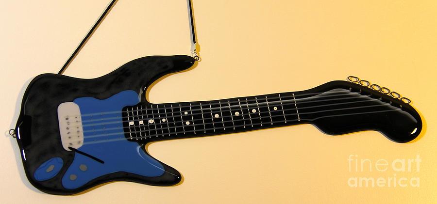 Fender Type Glass Art