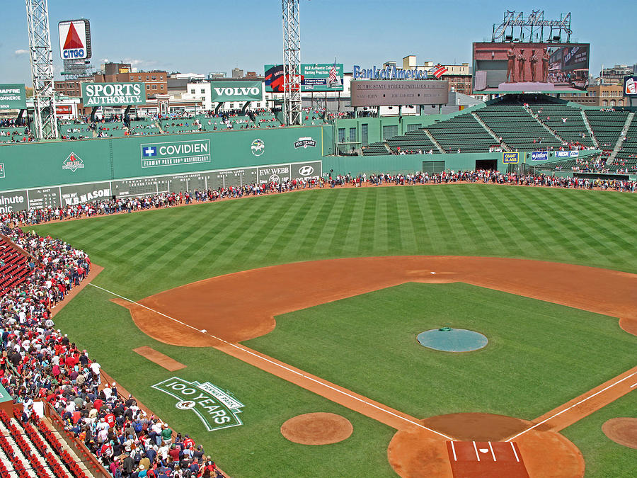 Fenway One Hundred Years Photograph