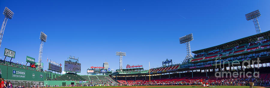 Fenway Photograph - Fenway Park- Home Of The Boston Red Sox by Diane Diederich