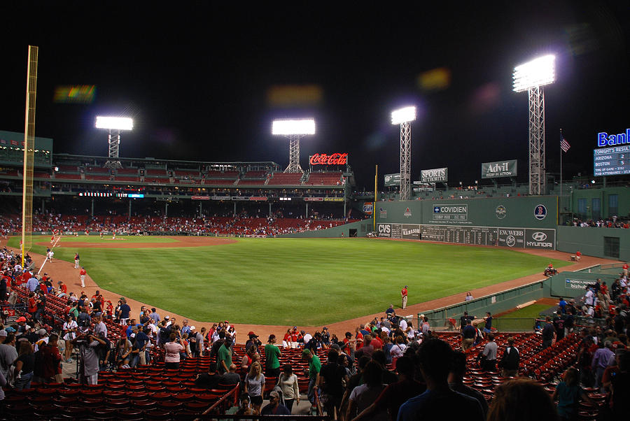 Fenway Park Photograph - Fenway Park by Mark Wiley