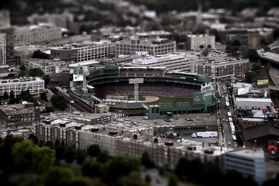 Baseball Photograph - Fenway Park by Tim Perry