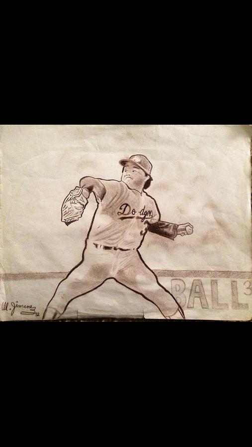 Fernando Valenzuela Drawing
