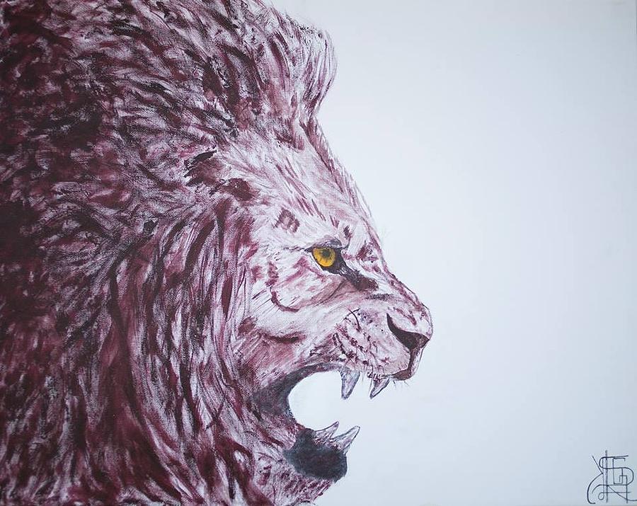 Ferocity Painting by Kelsey Roseveare