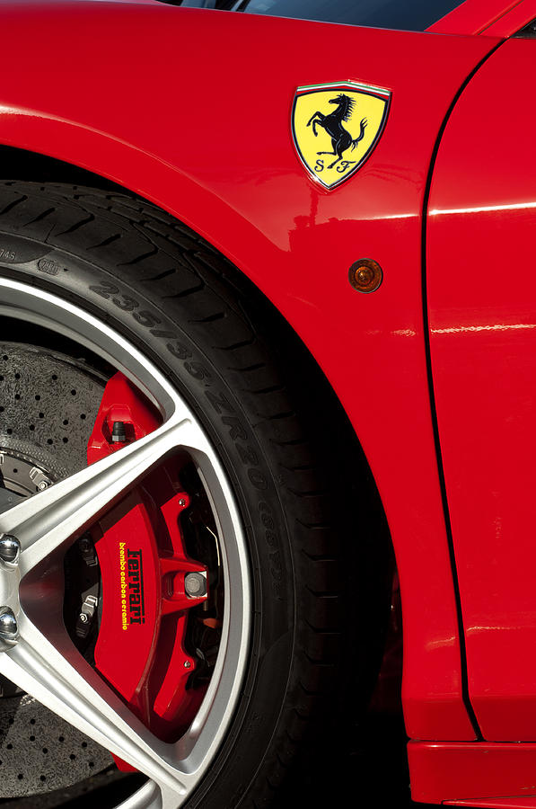 Ferrari Emblem 3 Photograph