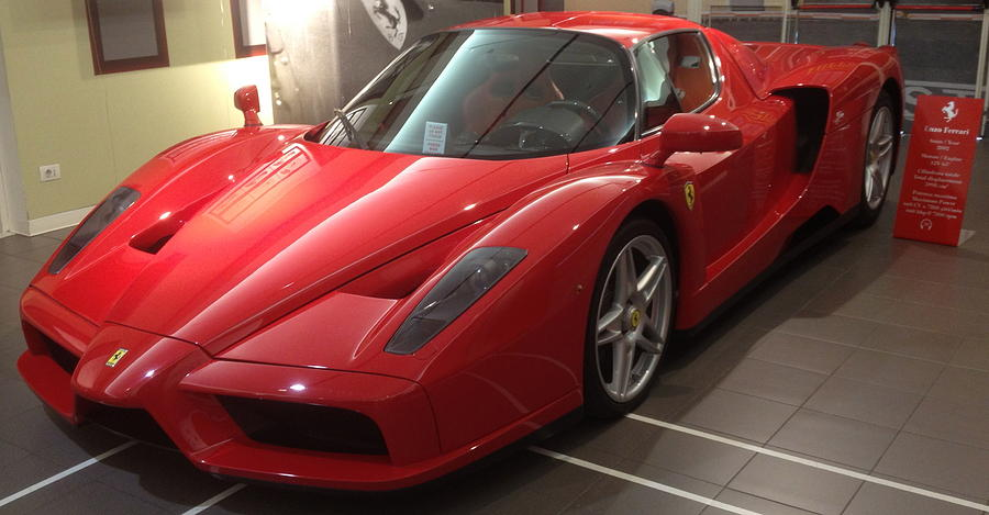 Ferrari Enzo At The Ferrari Museum Photograph