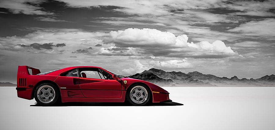Ferrari F40 Digital Art