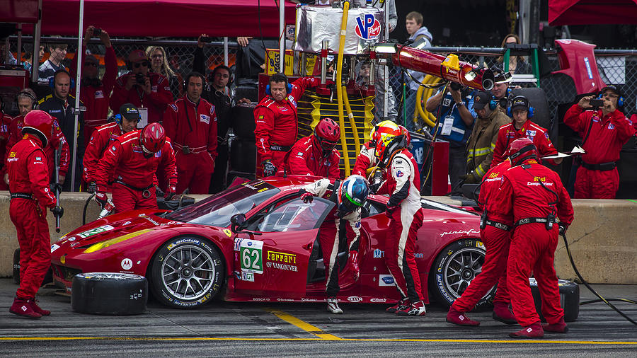 Ferrari Of Vancouver Photograph