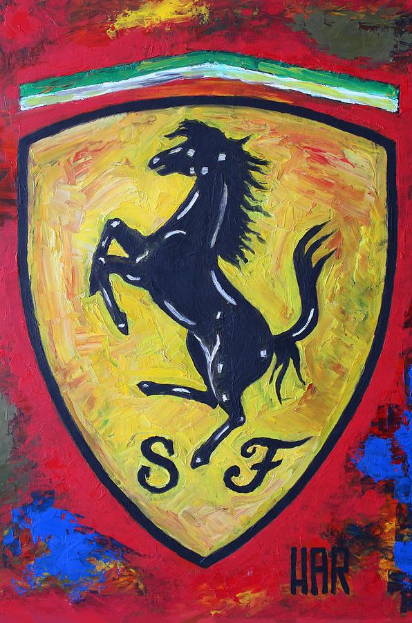 Ferrari Sport Cars Painting