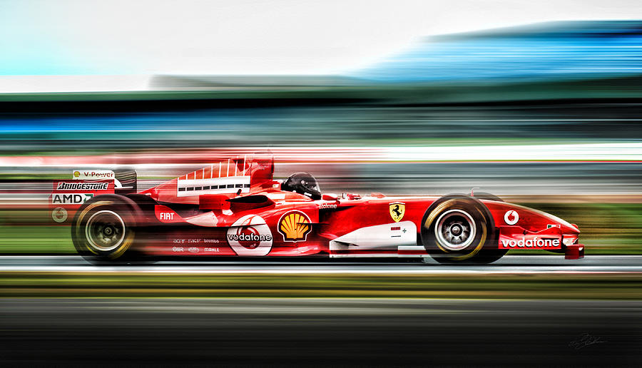 Ferrari Unbridled Digital Art