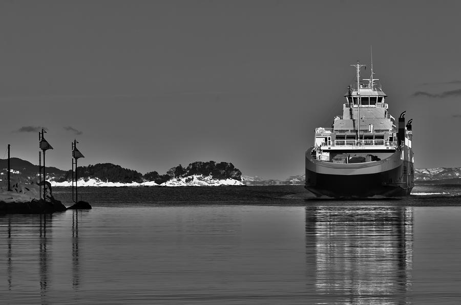 Ferry To Nowhere Photograph