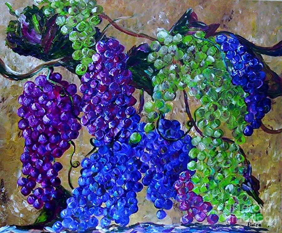 Festival Of Grapes Painting