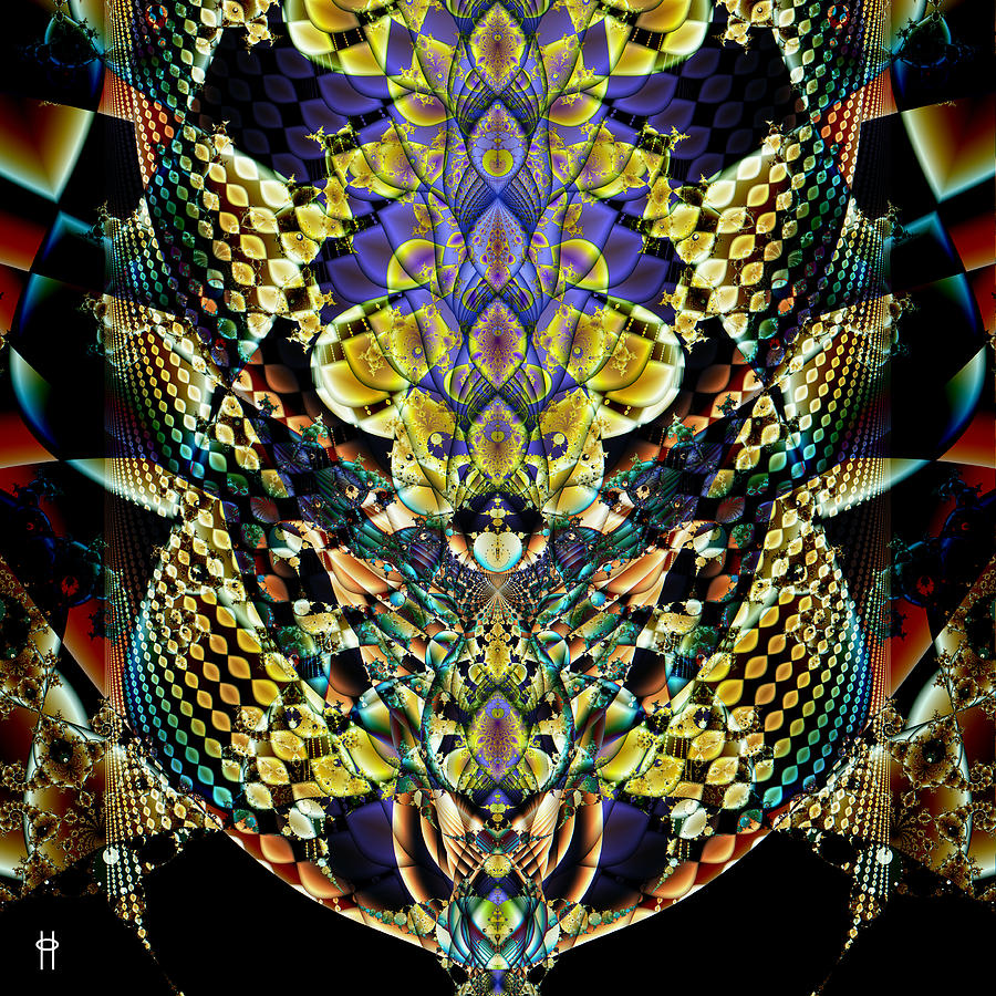 Festooned Digital Art