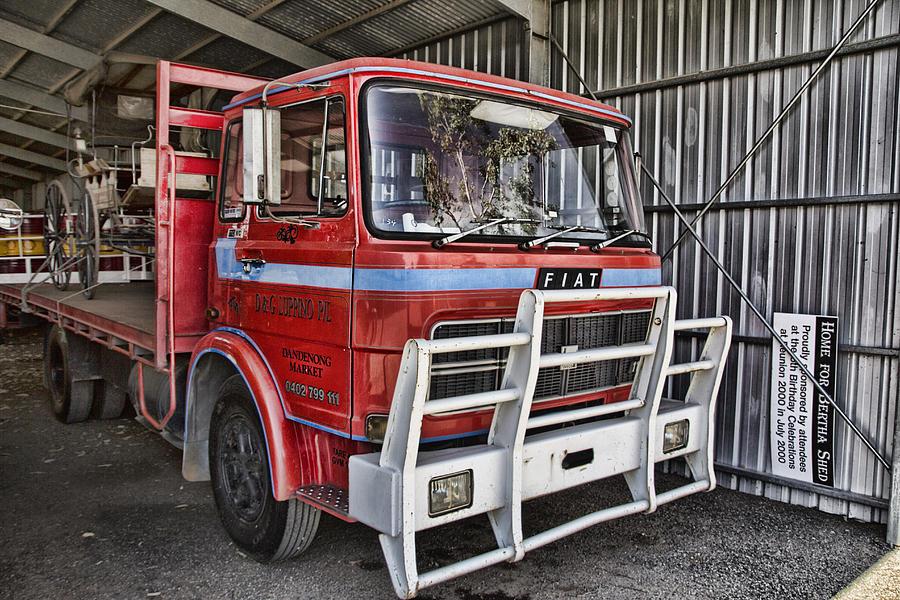Fiat Truck Photograph