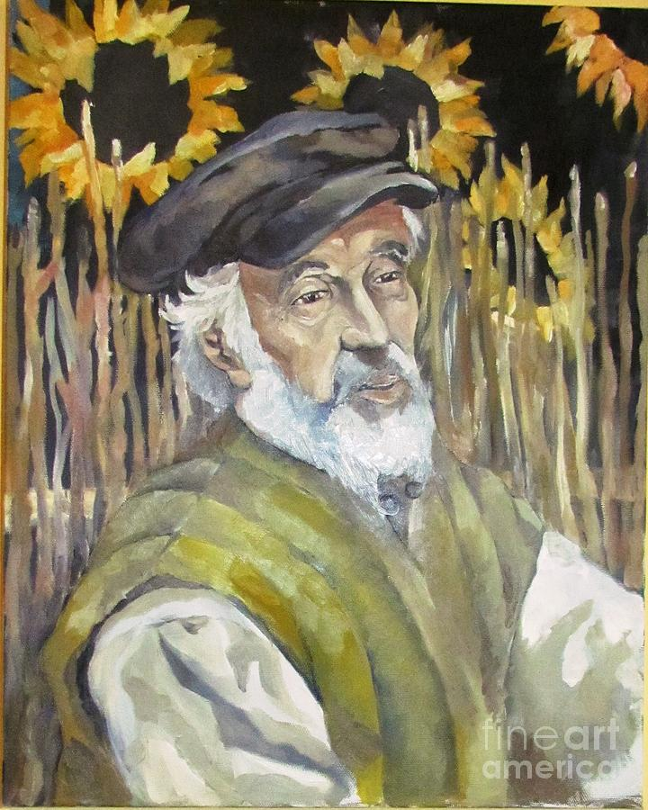 Fiddler On The Roof Painting - Fiddler On The Roof by Michael Vaisman