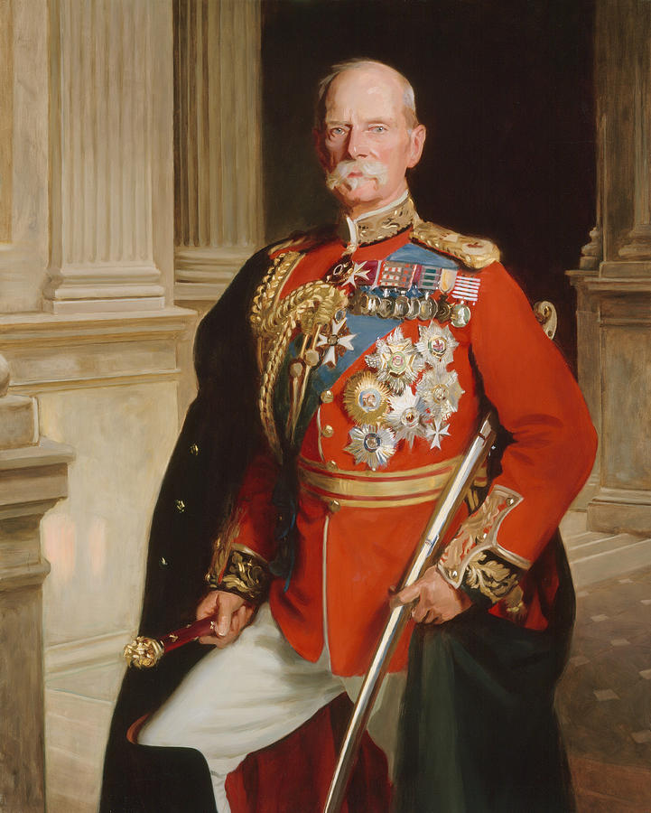 Field Marshal Lord Roberts Of Kandahar Painting