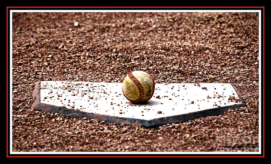 Field Of Dreams The Ball Photograph  - Field Of Dreams The Ball Fine Art Print