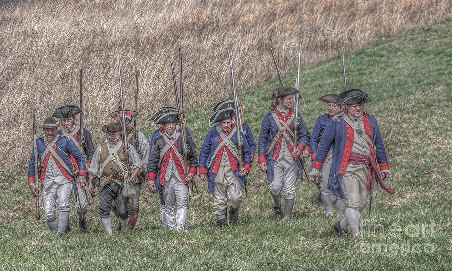 Revolutionary War Digital Art - Field Of Honor American Revolution by Randy Steele
