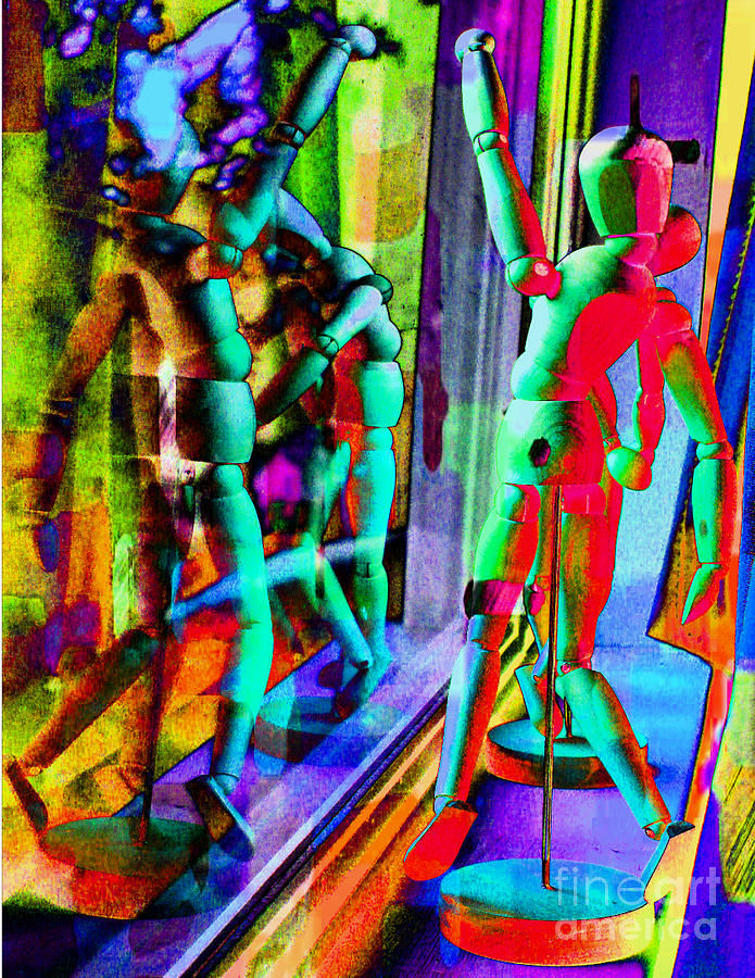 Figure Dancers Digital Art