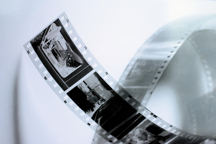 Slide Photograph - Film Strips by Tommytechno Sweden