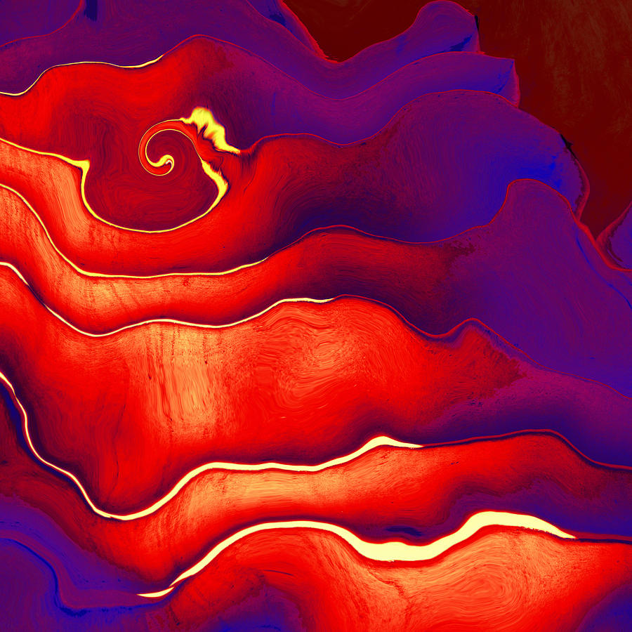 Abstract Digital Art - Final Question by Wendy J St Christopher