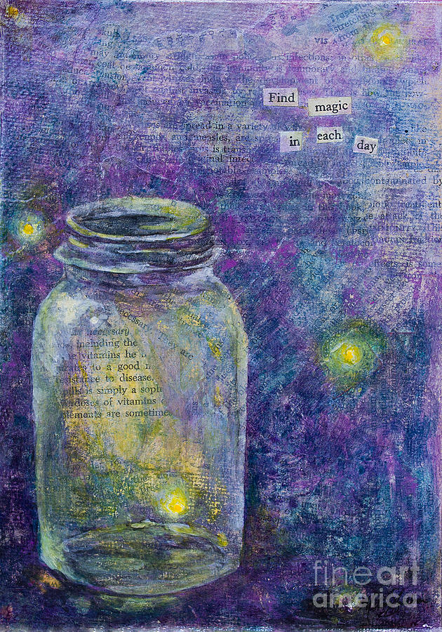 Find Magic Mixed Media  - Find Magic Fine Art Print